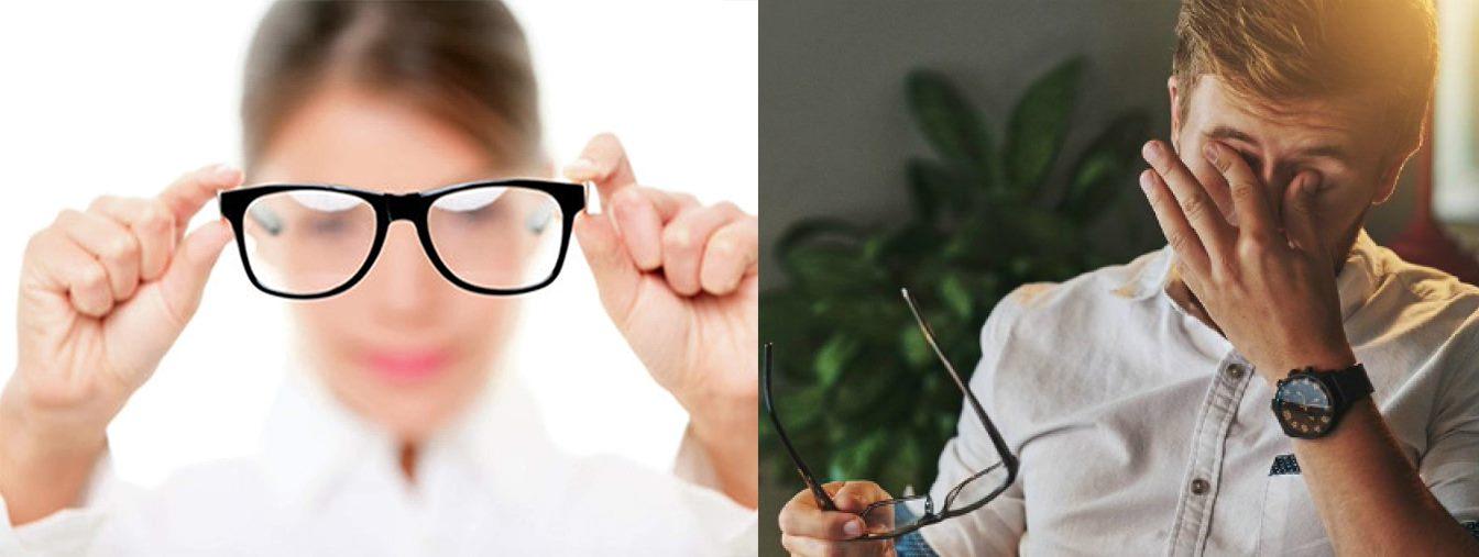 Mắt tăng độ nhanh là một trong 9 triệu chứng của đục thủy tinh thể